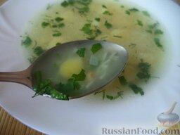 Суп картофельный с вермишелью: Суп картофельный с вермишелью готов. По желанию подавать со свежей зеленью.  Приятного аппетита!
