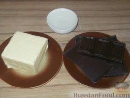 Шоколадная глазурь для всех тортов: Из этих продуктов будем готовить шоколадную глазурь для тортов.