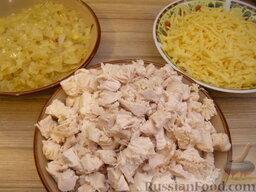 Курник с курицей и картошкой  рецепт с фото  ЧудоПовар