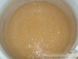 Варенье из лепестков роз: Воду, оставшуюся после бланширования (2-2,5 стакана), используют для приготовления сиропа.     Сироп для заливки готовят крепостью 40 % - в 100 г сиропа крепостью 40% содержится 40 г сахару и 60 г воды. То есть, на 0,5 литра воды понадобится 200 г сахара.