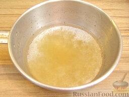 Желе из сметаны: Как приготовить желе из сметаны:    Раствор желатина готовят так. Сперва желатин заливают холодной кипяченой водой (на 10 г желатина - 80-100 мл воды).