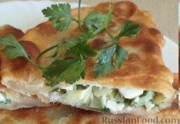 Фарш с зеленым луком и яйцом: Приятного аппетита!