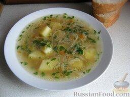 Самый простой суп: Самый простой суп готов.  Приятного аппетита!