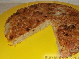 Картофельная драчена (бабка): Подать картофельную драчёну в горячем виде с маслом.
