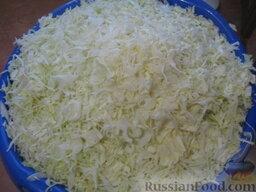 Квашеная капуста с клюквой: Как приготовить капусту с клюквой: Капусту очистить от верхних листьев и нашинковать.