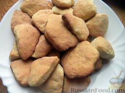 Печенье из творога: Печенье из творога готово.  Приятного чаепития!