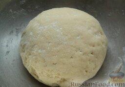 Печенье из творога: Руками замешиваю мягкое тесто.