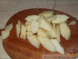 Варенье из груш с лимоном: Как приготовить варенье из груши с лимоном:  Отобрать хорошие груши, помыть, очистить от кожицы, нарезать каждую на ломтики.